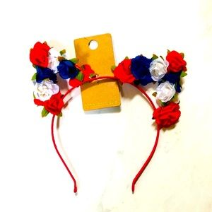 🌺4 Items-25$🌺Forever 21 Floral Cat Headband NWT